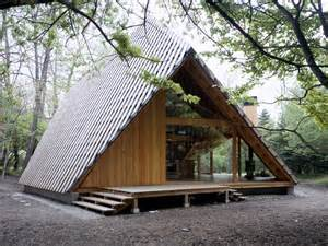 modern a frame house plans y h 252 tte architecture kengo kuma and associates