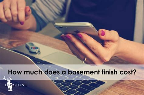astonishing how much does it cost to finish a basement decorating how much does a basement finish cost elkstone basements