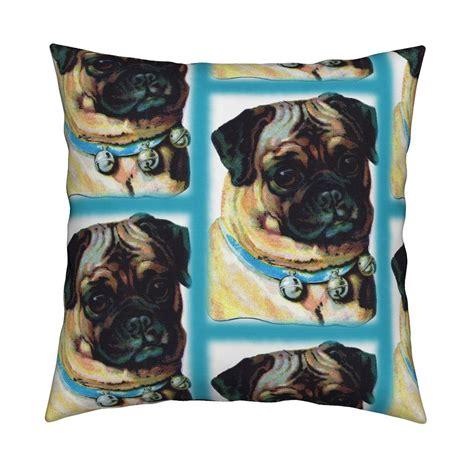 vintage pug vintage pug fabric icarpediem spoonflower
