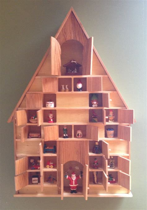 Handmade Wooden Advent Calendar - 20 enchanting handmade advent calendar ideas