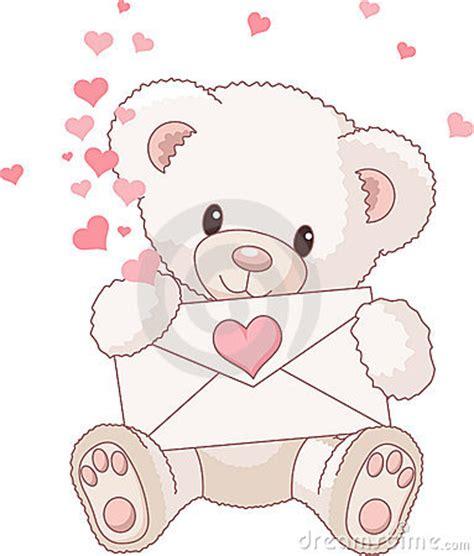 imagenes de osos con rosas y corazones teddy bear con el sobre y los corazones imagenes de