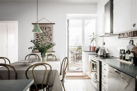 Modern Vintage Interior Design | modern vintage interior design in swedish apartment