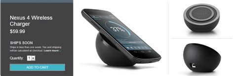 nexus qi nexus 4 wireless qi charger now available on play store for 60 androidmeter