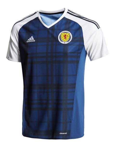 scotland 2016 adidas home kit 15 16 kits football