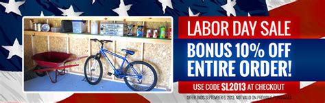 Shed Store Promo Code storage shed tips for survivalists for 2013 and beyond