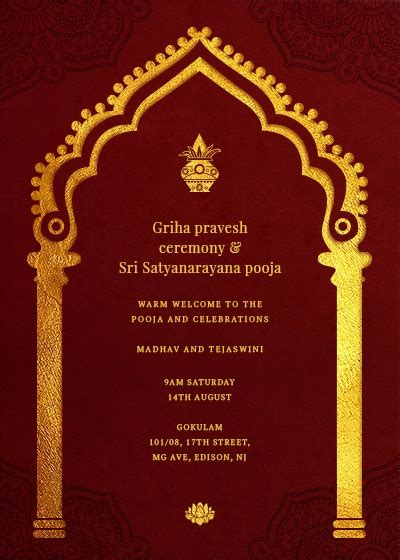 invitation card design in bangalore traditional welcome arch invitation invites