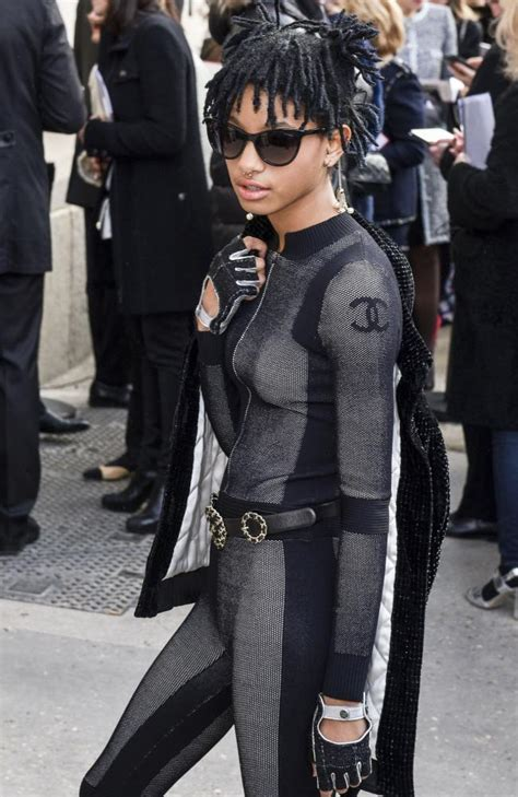 fashion week 2016 willow smith is chanel s new muse