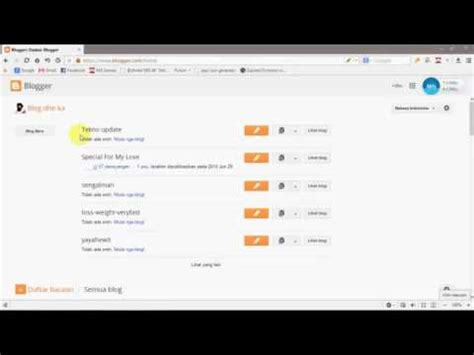 tutorial unity bagi pemula tips tutorial ngeblog bagi pemula by eka lesmana youtube