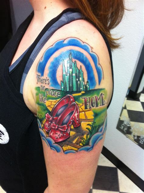 wizard of oz tattoos wizard of oz tattoos 15 brilliant designs