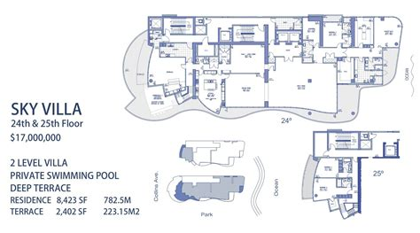 St Regis Residences Floor Plan by Chateau Beach Condos For Sale Sunny Isles Beach