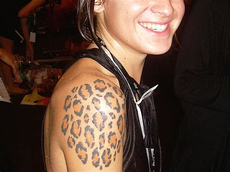 leopard skin tattoos designs leopard tattoos and designs page 58