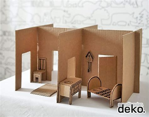 make a doll house 6 ways to make a cardboard dollhouse handmade charlotte
