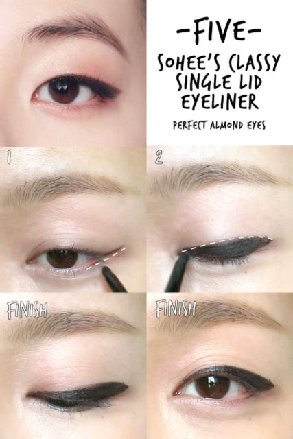 tutorial eyeliner kpop 13 asian beauty cheat sheets you ll want to bookmark