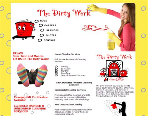 house cleaning services flyer templates review our website design portfolio business website designs