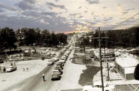 1950 s roswell rd at powers ferry rd looking west marietta ga 4 lane hwy marietta ga