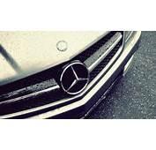 Wet Mercedez Benz Rain Drops HD Wallpaper