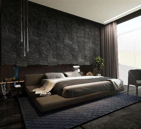 large masculine bedroom ideas  men decoration