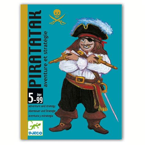 Tiny House Company djeco jeu de cartes piratak jeu de soci 233 t 233 pirates