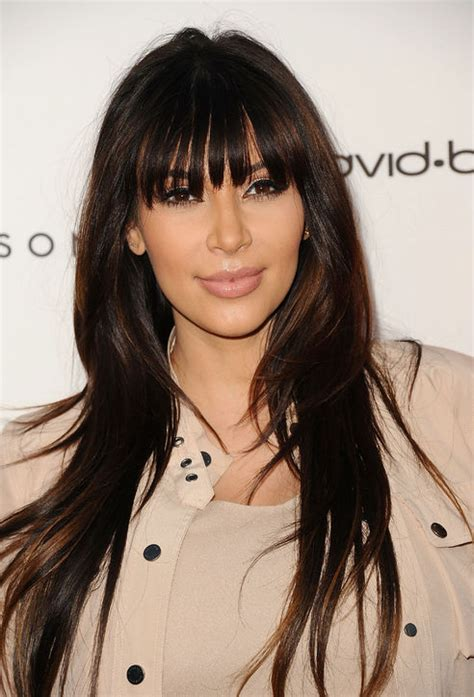 2014 full frinfg styles 22 fabulous celebrity inspired hairstyles with bangs