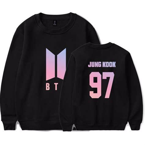 blusa moletom bts kpop novo logo army e bts jungkook r