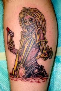 iron maiden tattoos cool tattoos designs