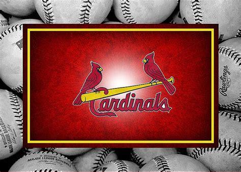 St Louis Gift Card - st louis cardinals greeting card by joe hamilton