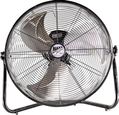 high cfm window fan maxxair hvff 20 high velocity floor fan 3150 cfm gray