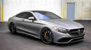 mercedes s63 amg coupe on vossen wheels