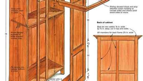 building  shaker style wardrobe finewoodworking
