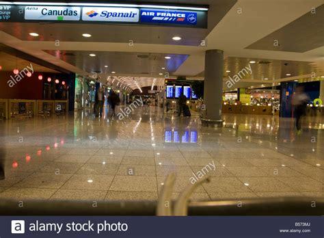 barcelona departures inside barcelona airport in the departures lounge el prat