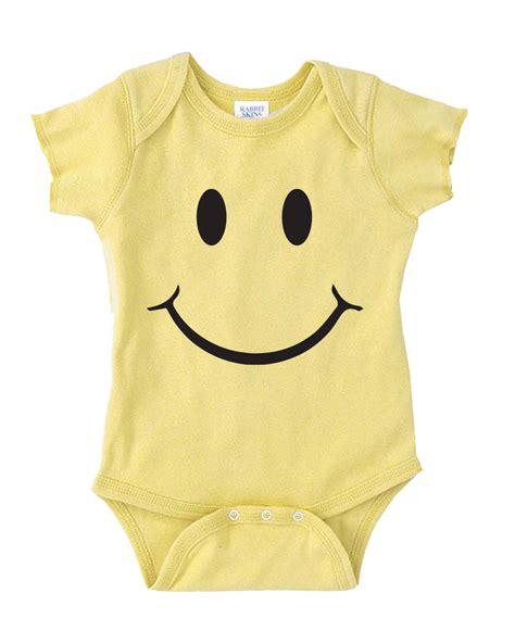 Handmade Onesies - smiley onesie baby onesie baby stuff baby