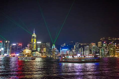 hong kong light cruise quot a symphony of lights quot dinner cruise picture of harbour
