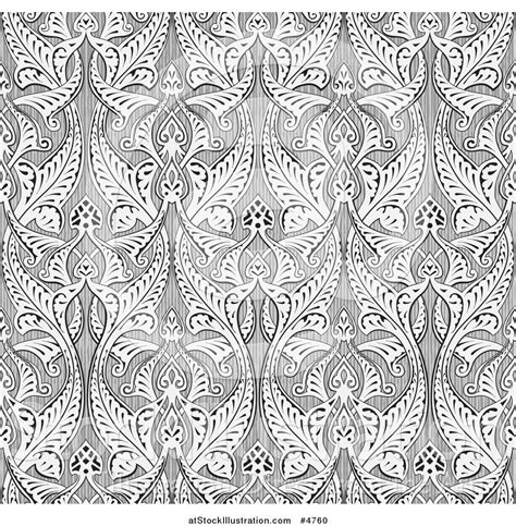 free vector arabic pattern vector illustration of an ornate gray seamless islamic