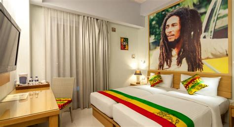 theme hotel jakarta there are bob marley themed hotel rooms in bali indonesia