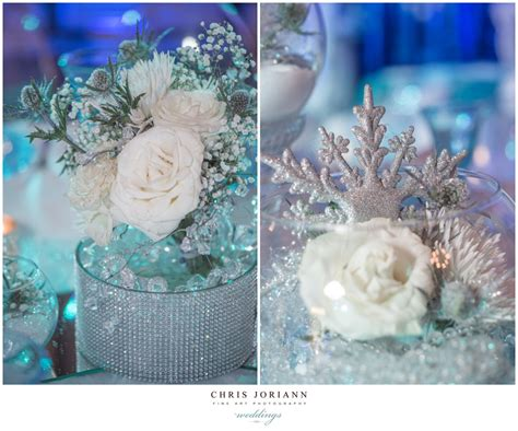 Beautiful Snowflake And White Roses Winter Wonderland Winter Centerpieces Sweet 16