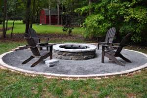 Firepit In Backyard Triyae Backyard Pit Patio Ideas Various Design Inspiration For Backyard