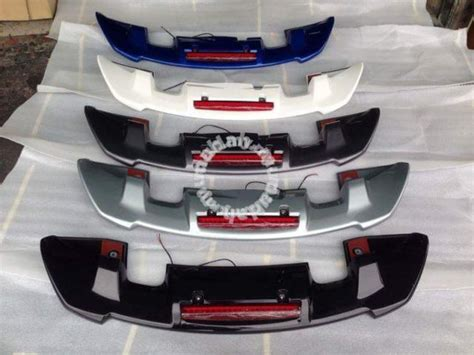 Spoiler Mugen Jazz Rs honda jazz gk rs mugen rs spoiler ori abs car accessories parts for sale in setapak kuala