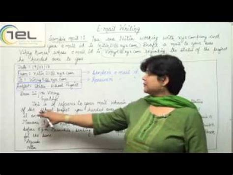 email writing pattern tcs email writing sle email formal youtube