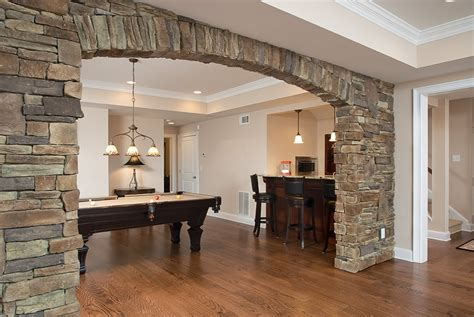 arch design inside home interior stone archways