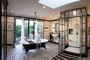 Black And White Bathroom Design Amazing Black And White Bathroom Design With A Retro Vibe