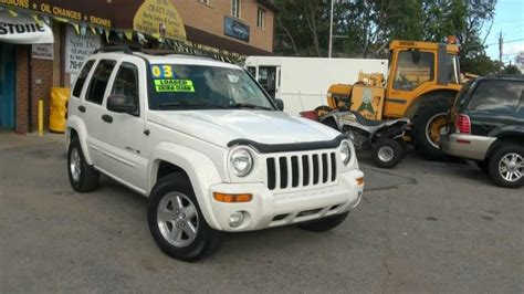 2003 jeep liberty 3 7 limited edition 4x4