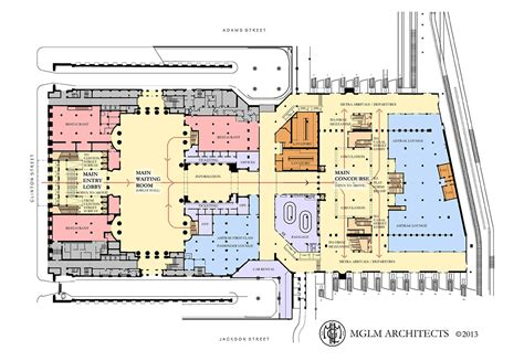 Grand Central Station Floor Plan by Chicago S New Metropolitan Lounge Information Page 4
