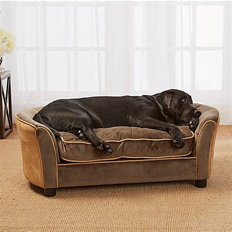ultra plush outlaw dog sofa enchanted home upholstered ultra plush panache pet sofa in