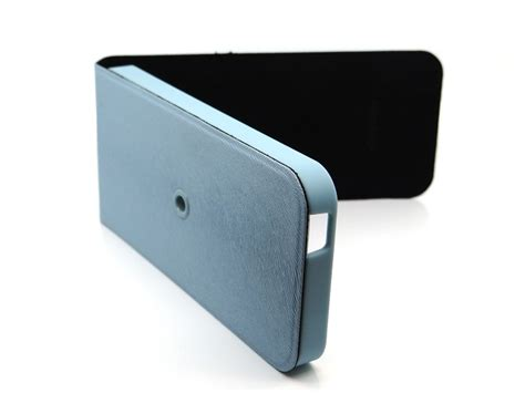 Casing Silicong Lv Standing Iphone 4 Iphone 5 macally shellstand flip with rotatable stand for apple iphone 5 blue sstandbl p5