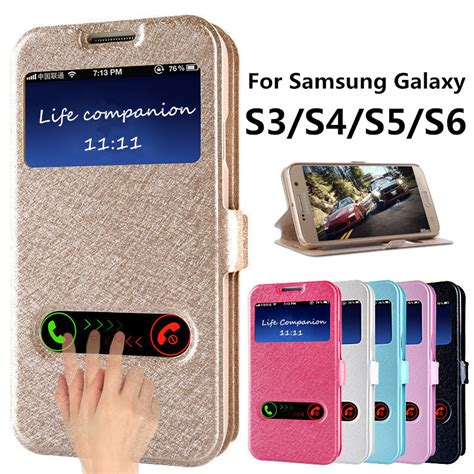 Flip Cover Advan S4 Promo Termurah flip cover for samsung galaxy s3 s4 s5 s6 pu leather phone bags with stand function galaxy