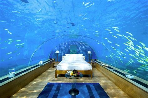 underwater bedroom in maldives top 20 world most beautiful living spaces