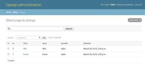 django test create test database for alias customizing the django admin brobin