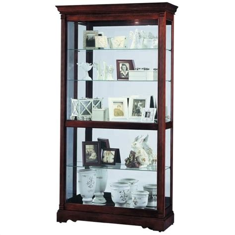 dublin traditional display curio cabinet 680337