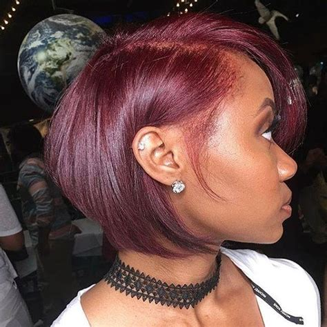 Hairstyles For Of Color 20 by 20 Photo Of Burgundy Hairstyles