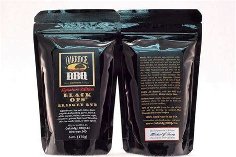 Oakridge Mall Gift Card - oakridge bbq black ops brisket rub 1lb atlanta bbq store